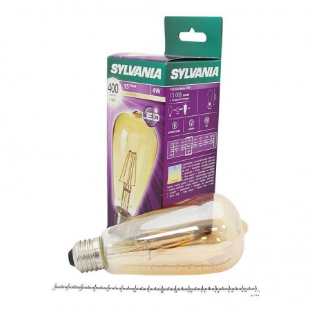SYLVANIA ToLEDo LED Retro Vintage Candle Lamp ST64 E27 4W-35W 400 lm 2400K