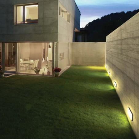 Kreadesign Inka Antracite Recessed Wall Lamp Marker IP65 92087