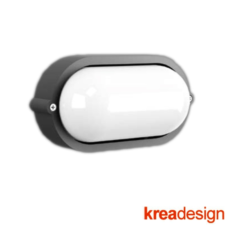 Kreadesign Alfa A4 100 Wall Lamp or Ceiling for Outdoor IP65 51066