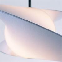Serien Propeller Ventilatore da Soffitto D.620mm con Lampada E27 105W Design