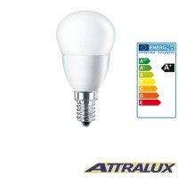 Attralux LED E14 3.2W-25W 2700K 250lm Opal Warm Light Bulb