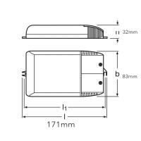 Osram powertronic pti 35/220-240 i ballast elettronico lampade scarica ioduri