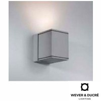 Wever & Ducrè Block Outdoor Applique Wall Lamp IP55
