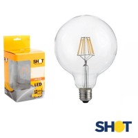 Bot Lighting Shot Dimmable Bulb Lamp Globe 125 LED E27 7.5W 2700K 806lm