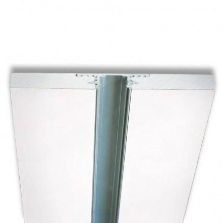 Lampo Kit Profilo In Alluminio Taglio Di Luce Maggiorato 2 Metri Per Controsoffitto A Scomparsa