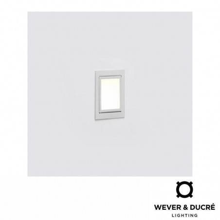 Wever & Ducrè LITO I Recessed Spot 12V Square Wall or Ceiling lamp In Low Voltage