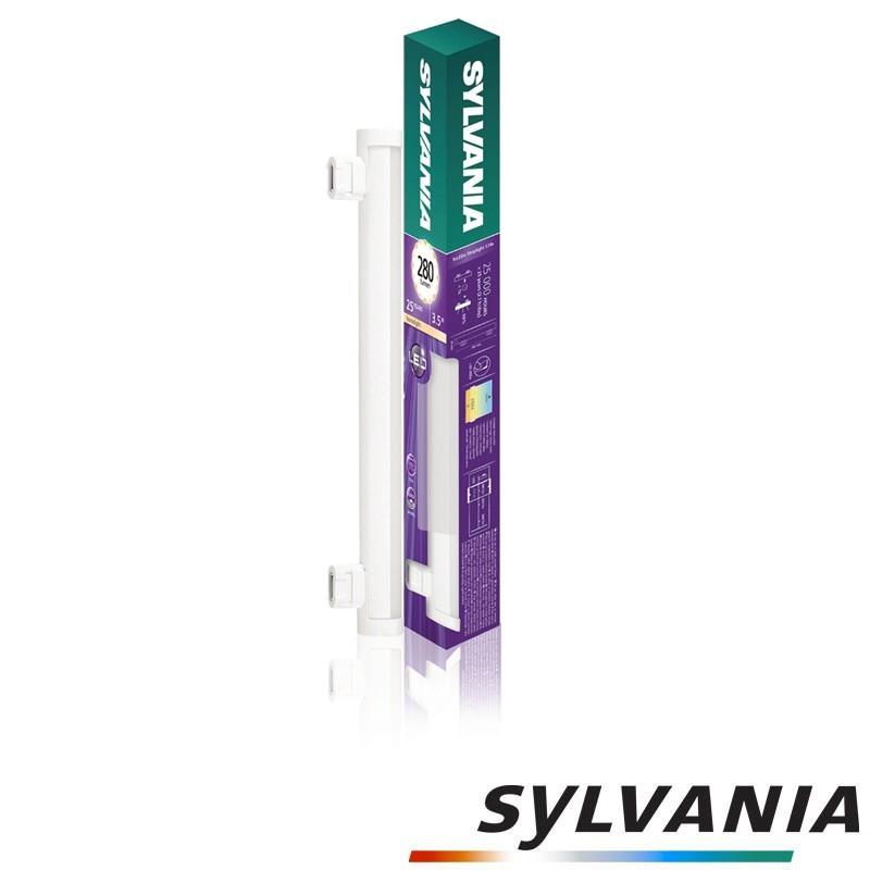 SYLVANIA ToLEDo LED Strip Light Tube Bulb 300mm S14s 3.5W 280lm 2700K