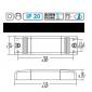 TCI DCC/U S 12W 700mA DC Direct Current Electronic Drivers