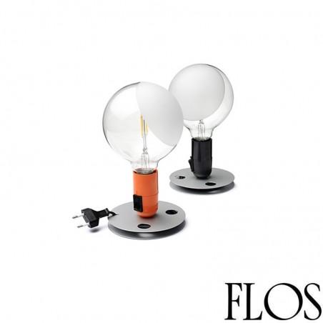 Flos Lampadina LED Table Lamp Black 110V UL by Achille Castiglioni
