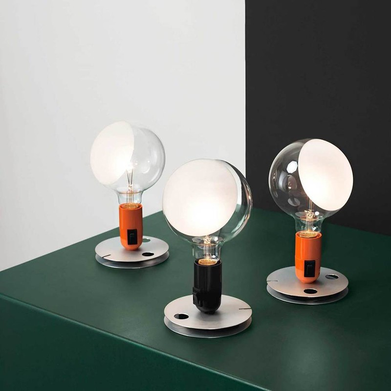 Indexbild 5 - Flos LED Leuchtmittel Tischleuchte Schwarz 110V Ul By Achilles Castiglioni