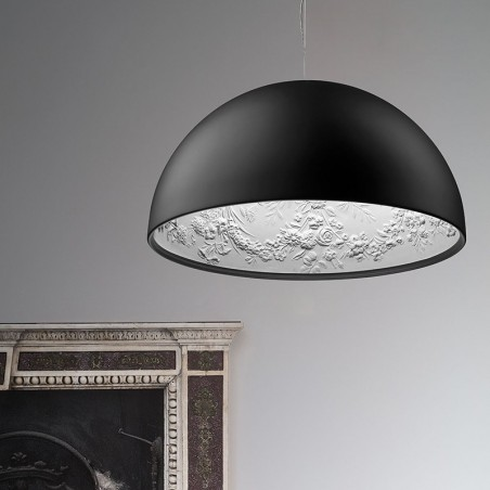 Flos Skygarden 2 Pendant Suspension Lamp Matt Black By Marcel Wanders