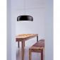 Flos Smithfield S LED Suspension Pendant Lamp Matt Black By Jasper Morrison