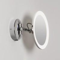 Astro Lighting Mascali Tondo LED Specchio Ingrandimento x5 Lampada da Parete Per Bagno