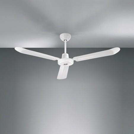 Perenz 7030B Ventilatore a Soffitto Metallo 3 Pale Bianco
