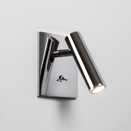 Astro Lighting Enna Recessed Square Switched LED Lampada da Parete A Incasso Orientabile Con Interruttore