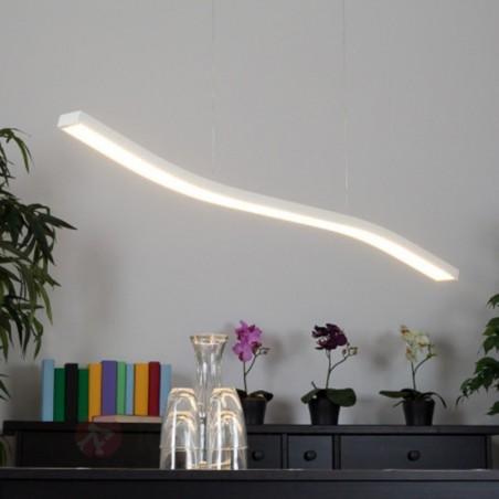 Fontana Arte Serpentine LED 23W Lampada Bianca a Sospensione A Luce Diretta By Gabi Peretto