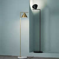 Flos Captain Flint LED Floor Lamp Anthracite/Black F1530030