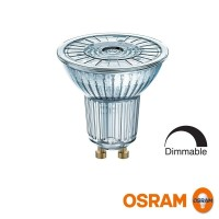 Osram LED Lampadina Parathom Advanced GU10 PAR16 80 36° 8W-80W 2700K 575lm Dimmerabile