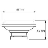 Philips Lampadina Master LEDspot LV AR111 D 11-50W 930 40° 3000K G53