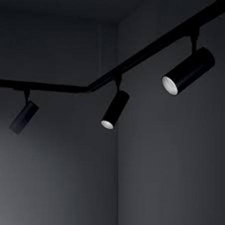 Ideallux Beba LED 28W 3000K 3000lm Track Projector Black