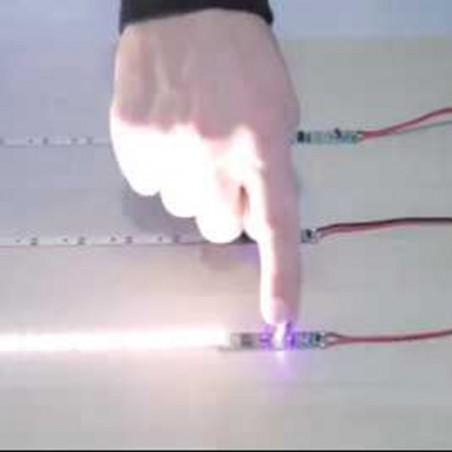 QLT Sensore di Movimento PIR per Striscia LED Profili Alluminio