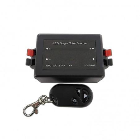 Lampo On-Off e Dimmer 12V-24V con Telecomando Codificato a Radiofrequenza