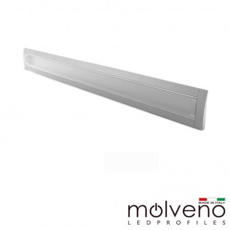 Molveno Lighting Diamante 707 Recessed Aluminum Profile for LED - 2 Meters - DM707R