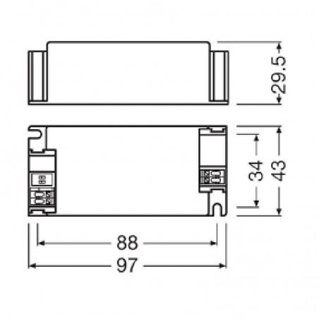 Osram Power Supply Optotronic OTe 35/220-240/1A0 CS LED