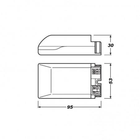 Osram Intelligent OTe 18/220-240/500 PC LED Driver Constant Current
