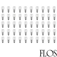 Flos Kit N. 50 LED Bulbs E14 2,7W 220-240V Warm White 2700K For Chandelier 2097 By Gino Sarfatti