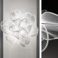 Slamp LA BELLE ÉTOILE LED Ceiling Or Wall Lamp In Warm light By Adriano Rachele