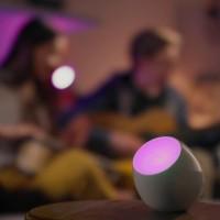 Philips Living Colors MICRO Nera Lampada Tavolo LED 4.7 W MULTI COLOR RGB