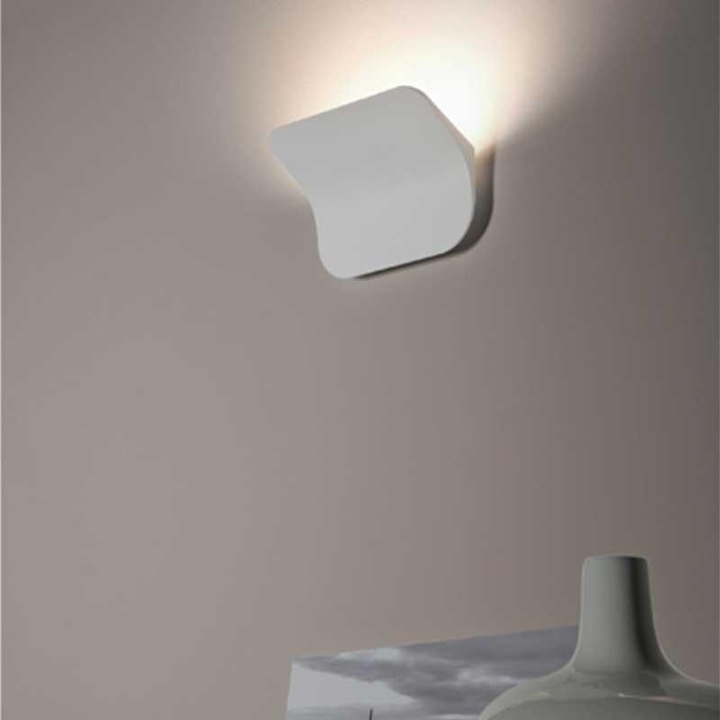 Rotaliana tide w0 led lampada da parete applique bianco diffusione luce srl - Applique da parete led ...