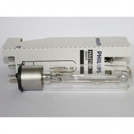 Lampadina ai vapori di sodio PHILIPS MASTER SDW-T 50W 2500K attacco PG12-1