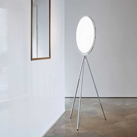 Flos Superloon LED 45W Floor Lamp White Dimmable 4000lm F6630009 Jasper Morrison
