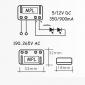QLT Power Supply MPL5 500mA 10V 4W for LED Module