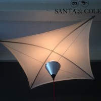 Santa & Cole Cometa Suspension Ceiling Lamp Design 1975