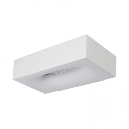 Artemide Melete LED 3000K Applique Wall Lamp Dimmable White By Pio E Toso