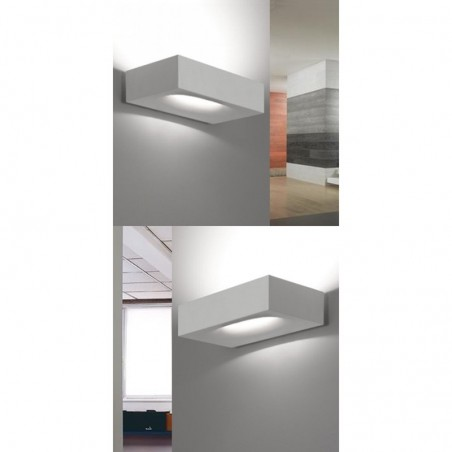 Artemide Melete LED 3000K Lampada da Parete Dimmerabile Bianco By Pio E Toso
