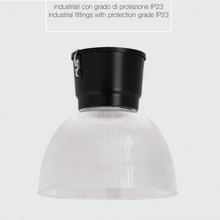 Ideallux Dundi 450 Industrial Suspension 70W G12