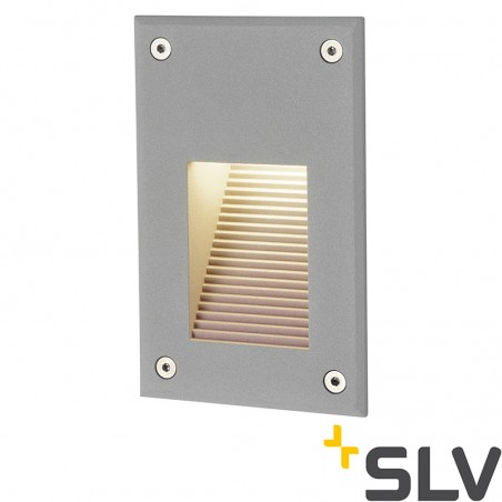 SLV Brick LED Downunder Vertical Outdoor Wall Lamp Marker