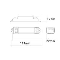 Ballast QLT SBBP 1x14W-15W-18W G13 2G10 2G11 IP20 Lampade Fluorescenti