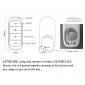 Bot Lighting AIRAM Kit Wireless Remote Control HUB And GU10 4.8W Led ZigBee Dimmable Warm Light