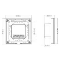 Lampo Controller Dimmer 12V-24V Touch ON-OFF Da Parete