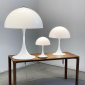 Louis Poulsen Panthella Portable LED USB Table Lamp White Rechargeable Portable By Verner Panton