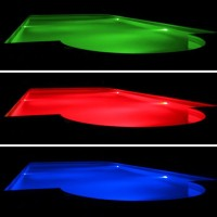 Duralamp PAR56 Lampada Piscina LED 20W RGB 12V IP68 Cambia Colore