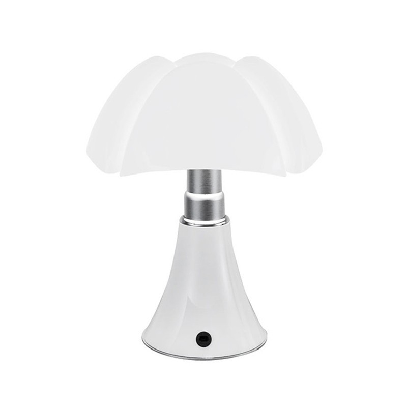 Martinelli Luce Minipipistrello USB Cordless Battery Table Lamp Rechargeable By Gae Aulenti
