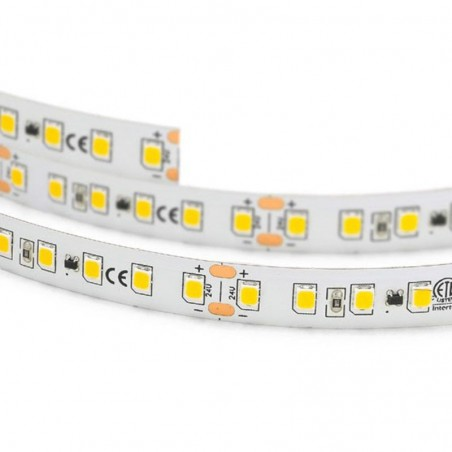 Lampo Strip LED 3528 180led/m 24V 14.4W/mt Reel 5 Meters 72W Flexible Excellent Quality