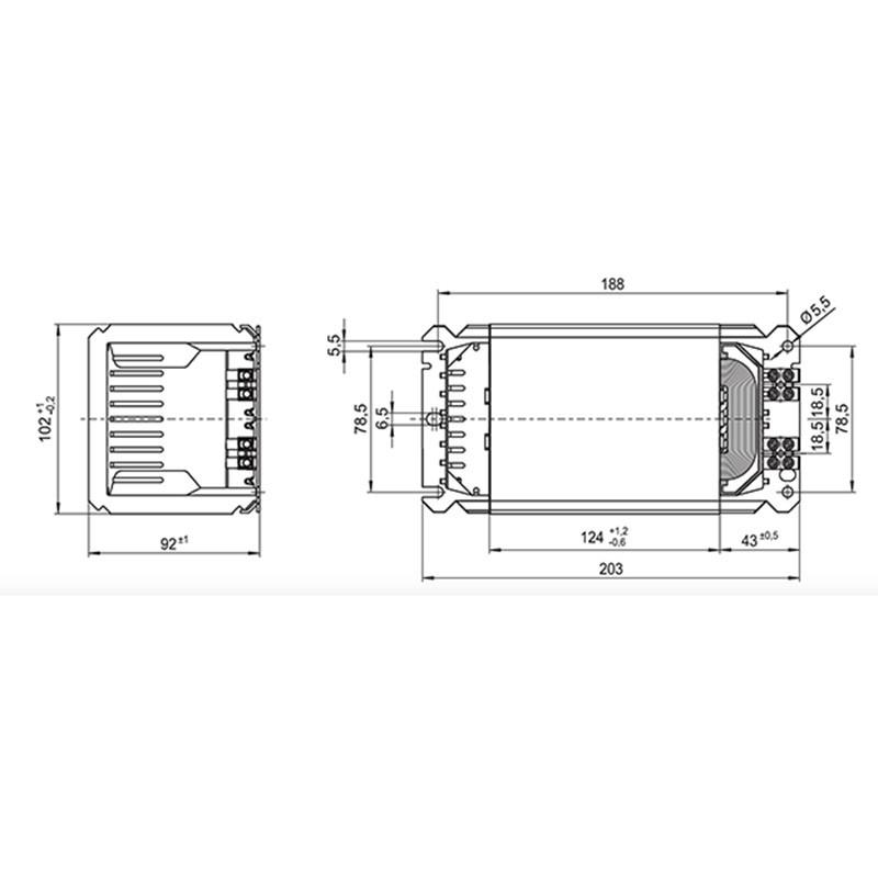 Vossloh Schwabe 526196 Ballast 1802056 METAL-HALIDE //HIGH PRESSURE SODIUM