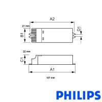 Philips Power Supply Certaline 60w 12V 20-60w alogen or led